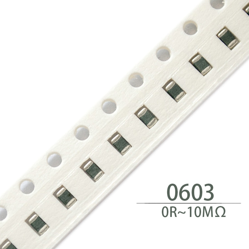 Resistores smd 1/8w 22k 24k 27k 30k 33k 36k 39k 43k 47k 51k 56k 62k 68k 75k 82 resistores do resistor da microplaqueta de 100 pces 0603 k 91k 100k 110k 120k