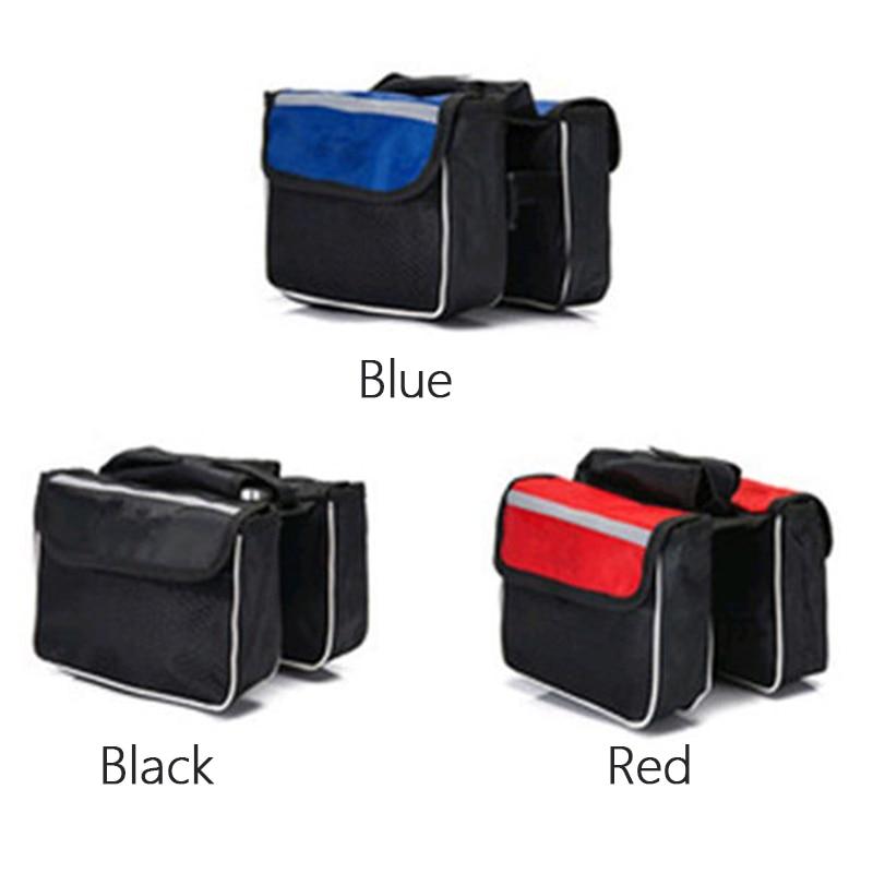 Novo saco de sela da bicicleta acessórios da bicicleta mtb bagges sob o armazenamento do assento bolsa cauda ciclismo pacote traseiro panniers quente