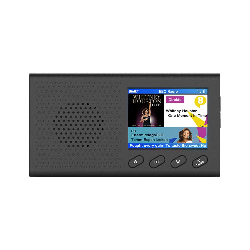Alta calidad portátil DAB receptor FM Radio Bluetooth 4,2 reproductor de música 3,5mm salida estéreo para herramientas de coche