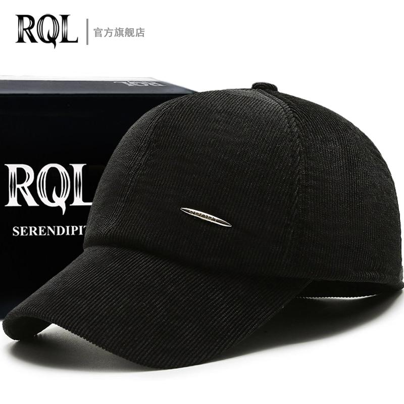 Мужская осенне-зимняя шапка, регулируемая бейсболка, дизайнерская брендовая бейсболка с ушами для защиты ушей, сохраняющая тепло замшевая ...