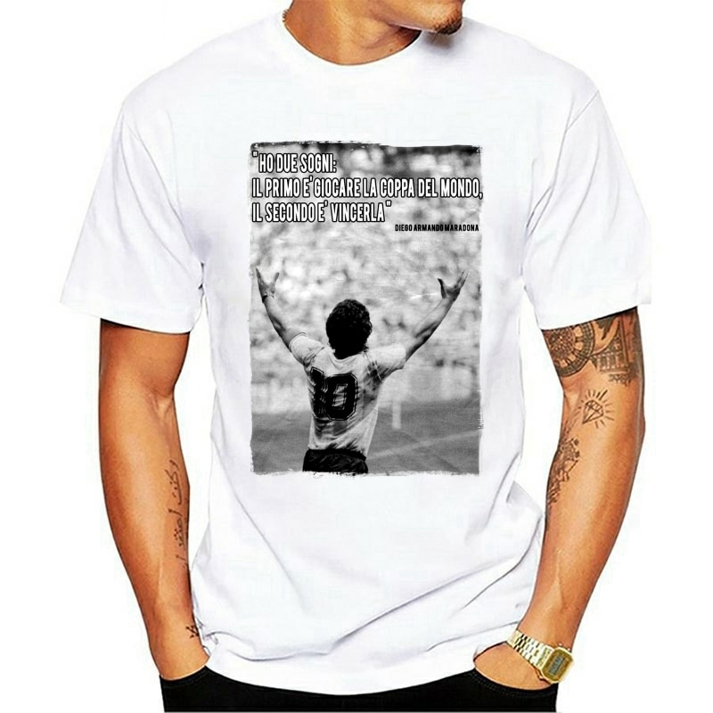"""2021 Leisure Fashion 100% Cotton T-shirt """"FAMOUS QUOTE CUP WORLD ARGENTINA"""" GIFT IDEA"""