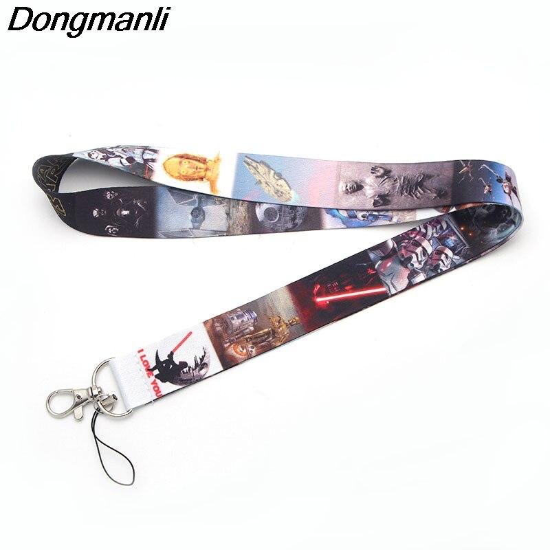 P1927 Dongmanli Cool keychain lanyard Badge ID Lanyards/ Mobile Phone Rope/ Key Lanyard Neck Straps jewelry