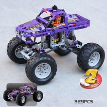 City 2in1 Racing Off-Roader Car Model Building Blocks MOC Technic Car Creator Expert Vehicles Bricks Toys for Children Boys Gift