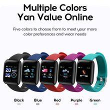 Rovtop D13 Smart Watch 116 Plus Heart Rate Sensor Sports Equipment Wristband Wristwatch Waterproof Smart Bracelet