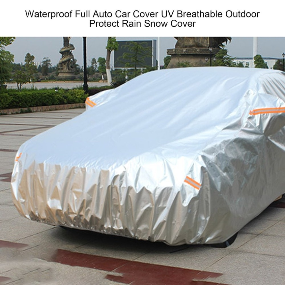2021 New 2020  New Hot Waterproof Outer Membrane Full Car Cover UV Resistant Fabric Breathable Outdoor Rain Snow Ice Resistant