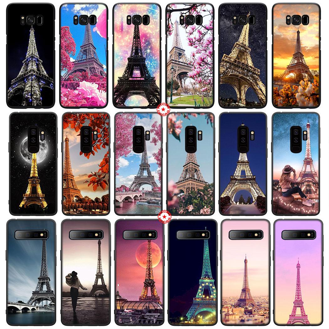 Y25 Eiffel Tower Art Soft Silicone Case for Samsung Galaxy Note 8 9 S10 S9 S8 Plus Lite S10E S6 S7 E