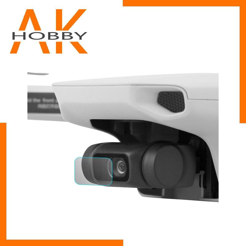 Sunnylife 2 Set Cámara lente película protectora HD vidrio templado película lente Protector para Mavic Mini