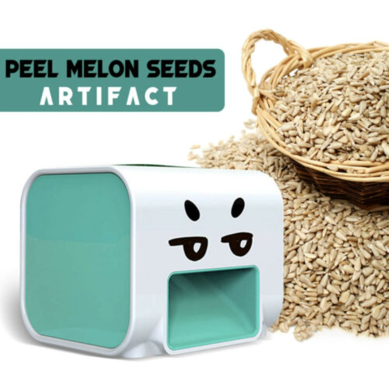 Automatic Melon Shelling Machine Seed Peeler Sunflower Melon Seed Kitchen Accessories Lazy Artifact Nutcracker Opener Portable