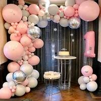 12inch macaron pastel latex baloons birthday decoratios girl baby shower decoration anniversaire air globos arche ballon