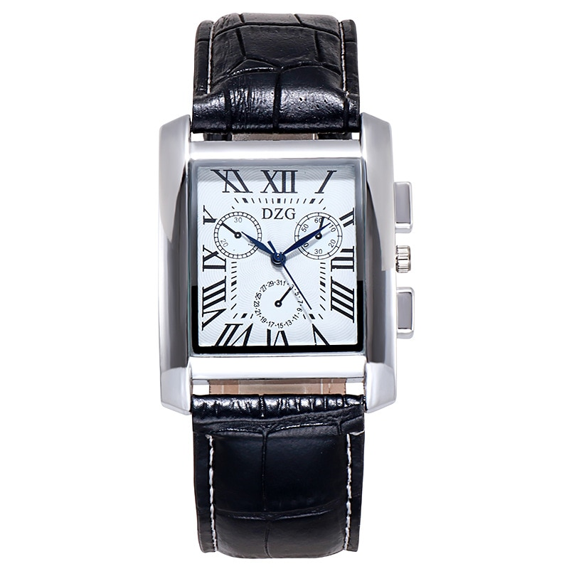 2020 New Luxury Classic Men Watches Military Sport Stainless Steel Waterproof Date Leather Sport Qua