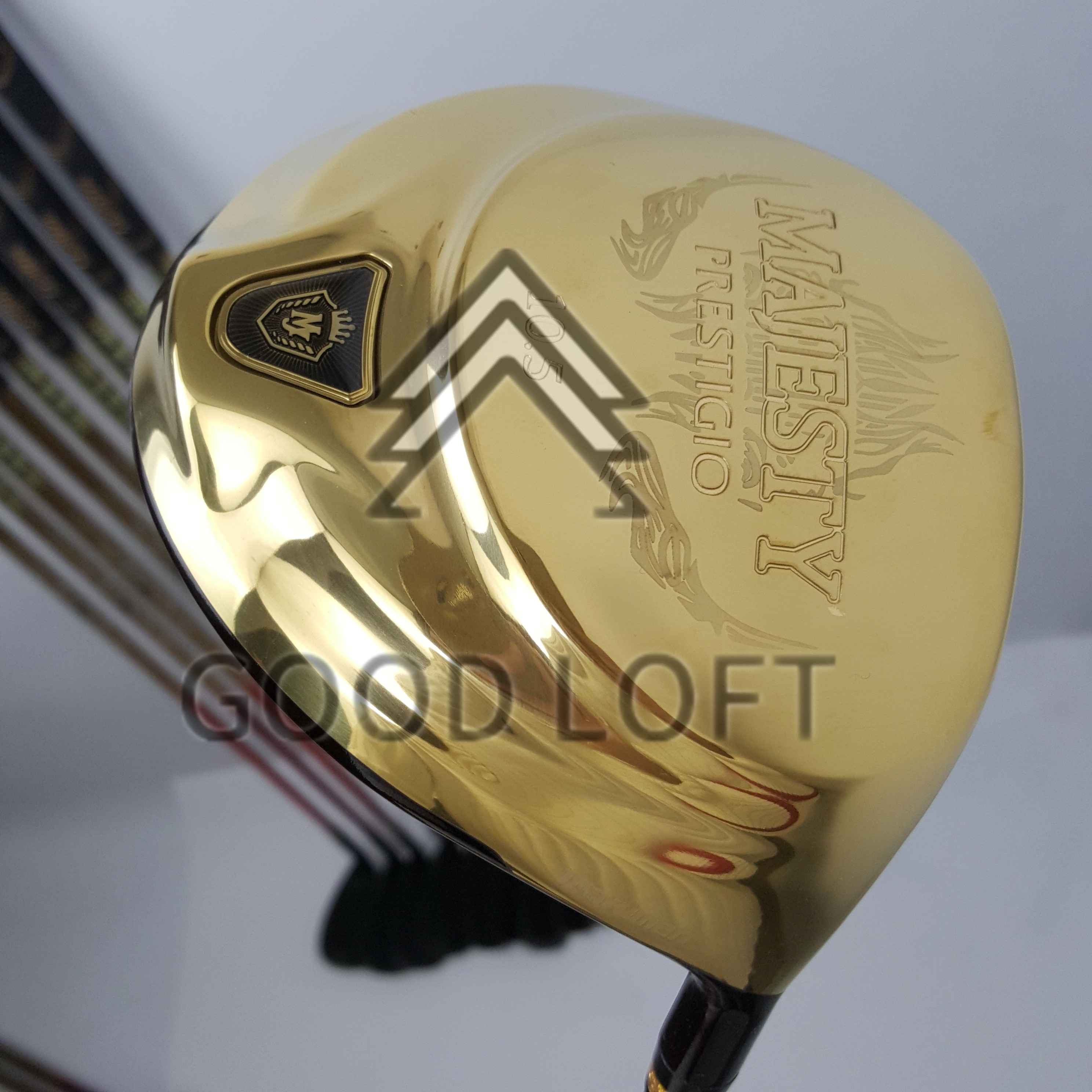 Maruman Majesty Prestigio 9 Golf Drive 9.5 or 10.5  and 3/5wood Graphite shaft R / S flex with club head free shipping