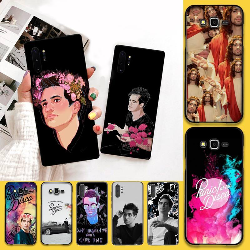 Funda de teléfono CUTEWANAN Brendon Urie Panic at the Disco, Capa para Samsung Note 7 8 9 10 Lite Plus Galaxy J7 J8 J6 Plus 2018 Prime