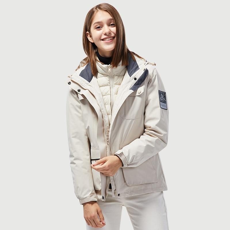 Jacket Ski Equipment Snow Women Clothes Coat Snowboard Jacket Skiing Set Snow Suit Men Combinaison Ski Protective Gear BJ50HX