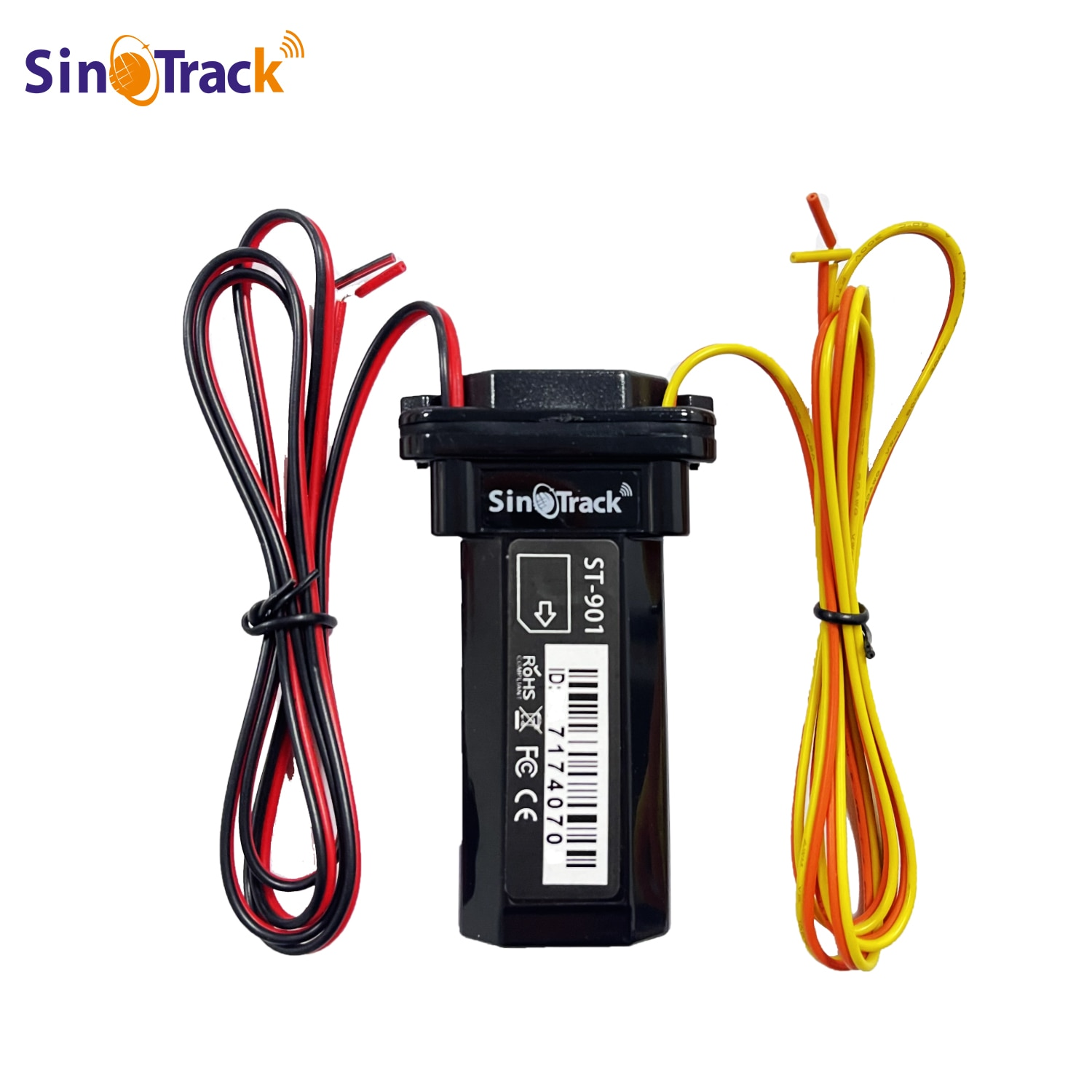Mini Waterproof ST-901 4 PIN Cable with Relay for Remote Control  Builtin Battery GSM GPS tracker  for Car Motorcycle Vehicle