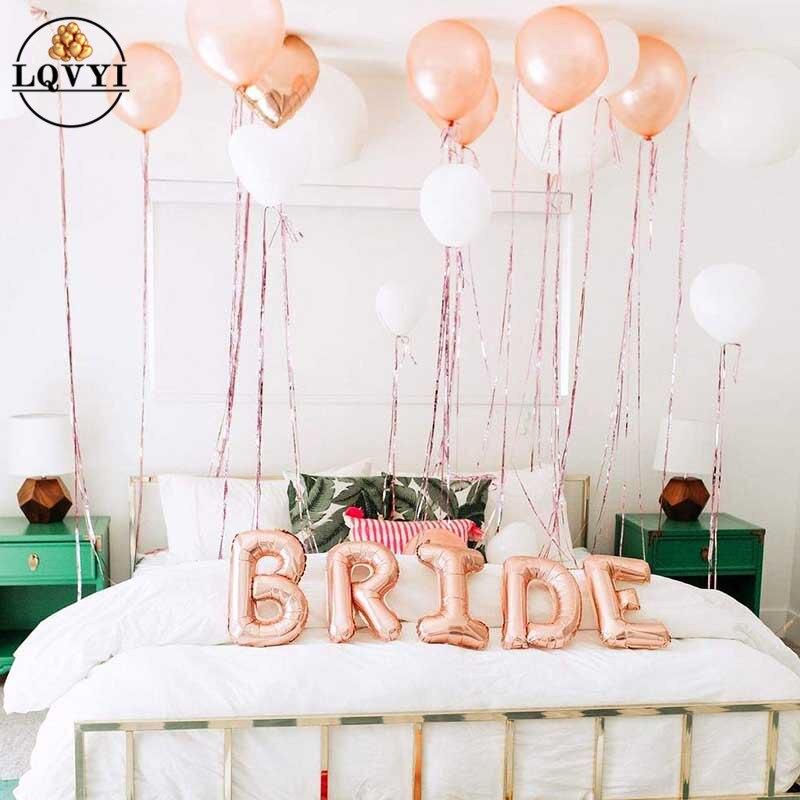 36 polegada mr mrs balões de látex branco para a festa de casamento, noiva do chuveiro de noiva a ser, festa de noivado balão de ar decoração de casamento