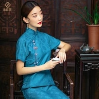 new and improved version of retro cheongsam dress for women