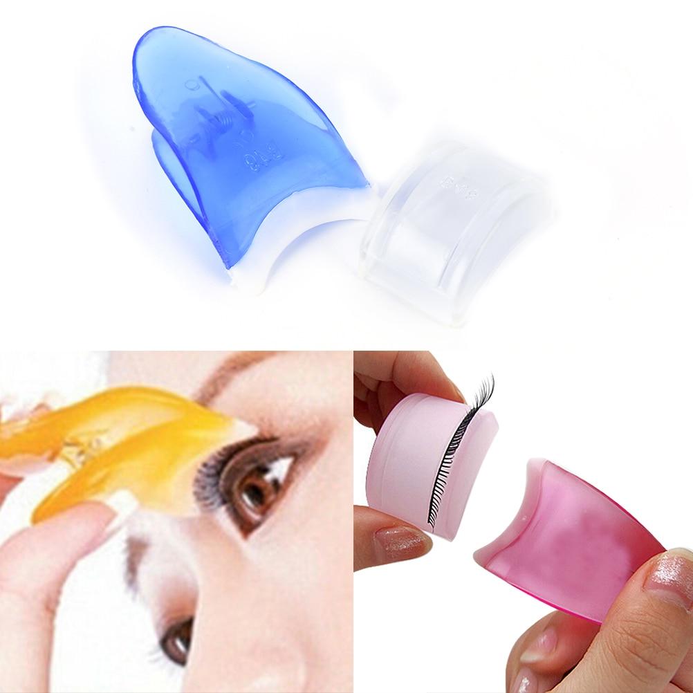 1PCS Women False Eyelashes Clip Eyelash Applicator Tweezers Eye Lashes Curler Eye Makeup Cosmetic To