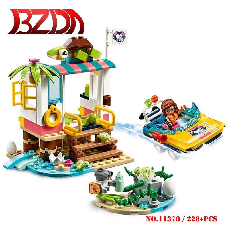 BZDA buenos amigos tortugas de rescate misión de bloques de construcción modelo de Personaje de Anime Compatible con 41376 bloques juguetes para niños regalo de Navidad