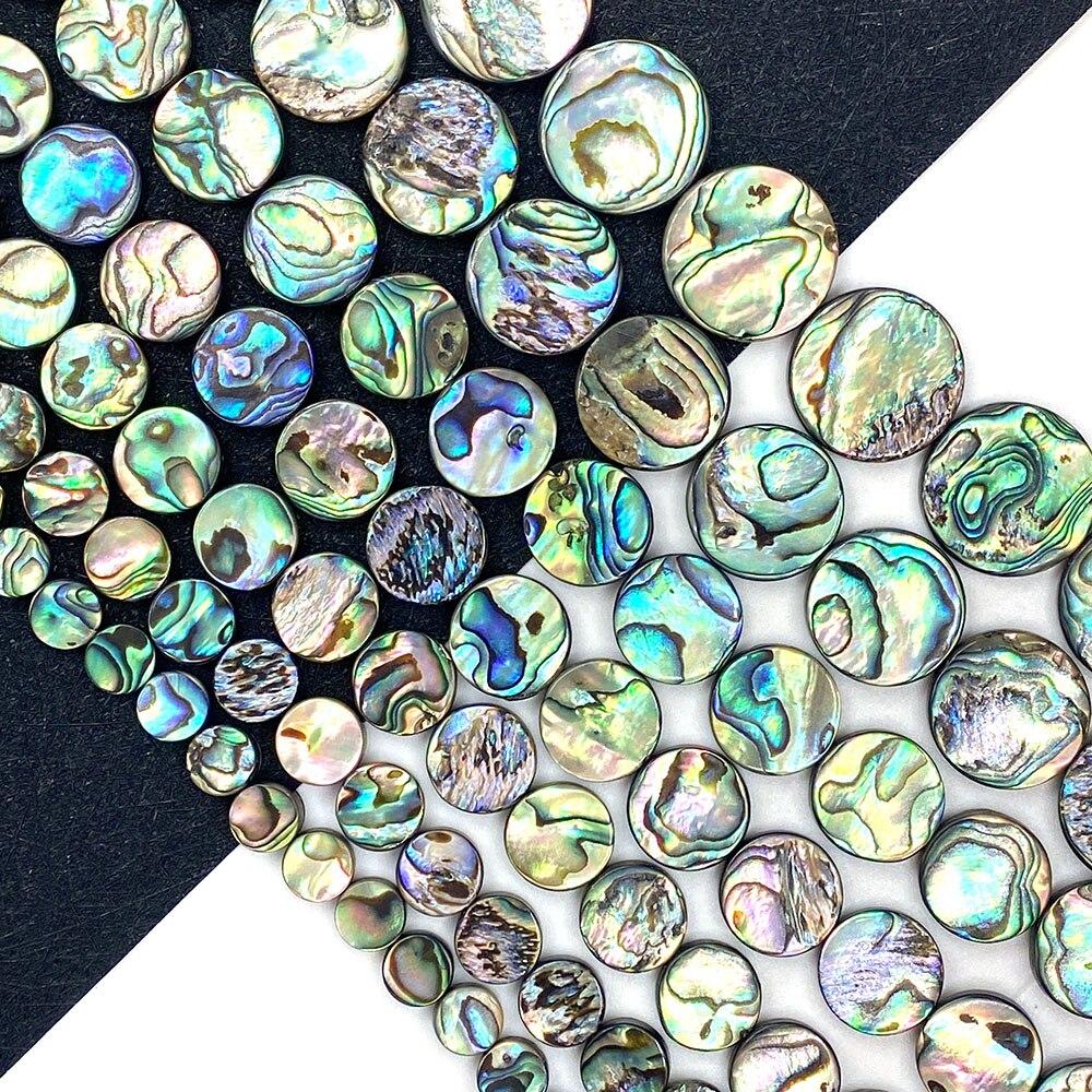 Concha Natural perlas sueltas Cuentas de concha de abulón en forma de...