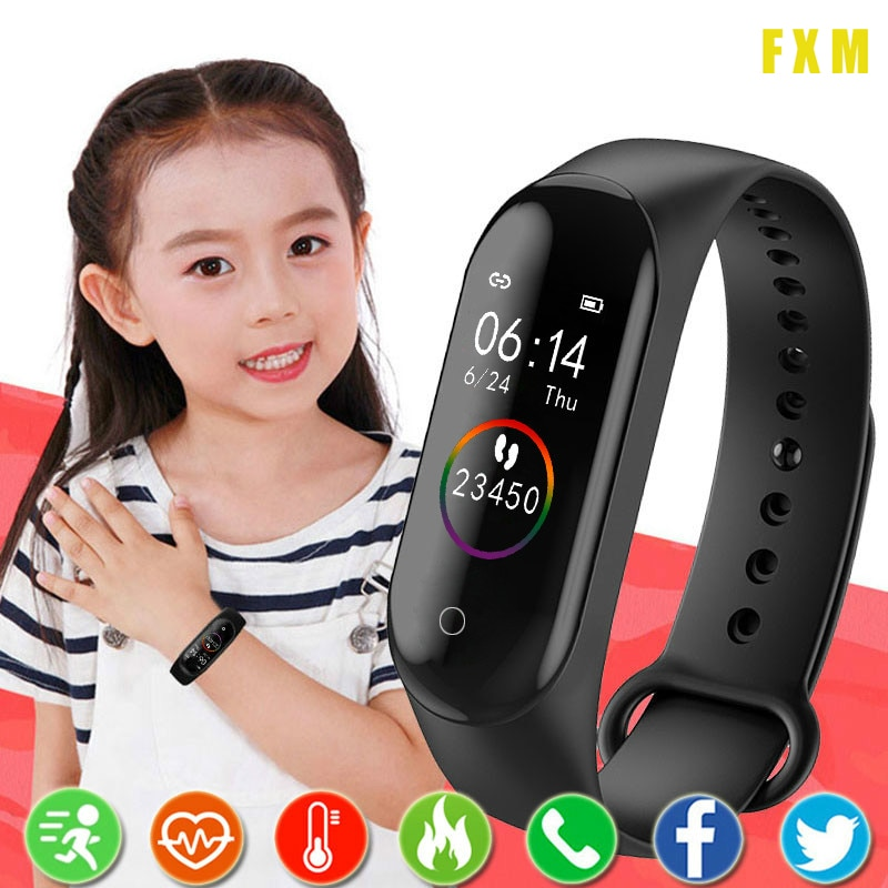 Smart Watch Kids Watches Children For Girls Boys Sport Bracelet Child Wristband wristband Fitness Tr