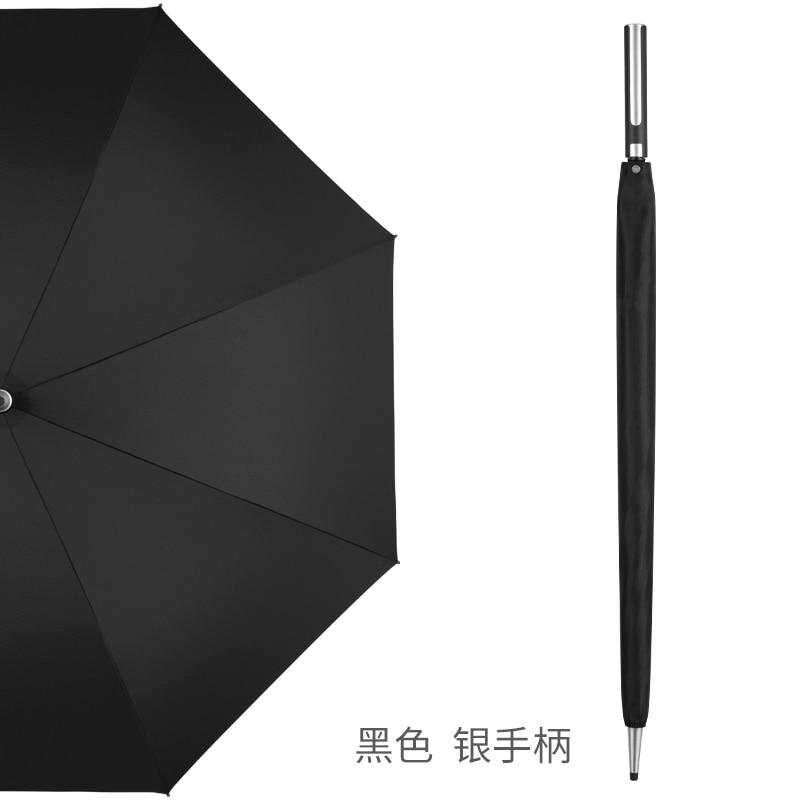 Large Automatic Umbrella Long Handle Waterproof Outdoor Windproof Uv Protection Straight Umbrella Men Parapluie Rain Gear DF50YS enlarge