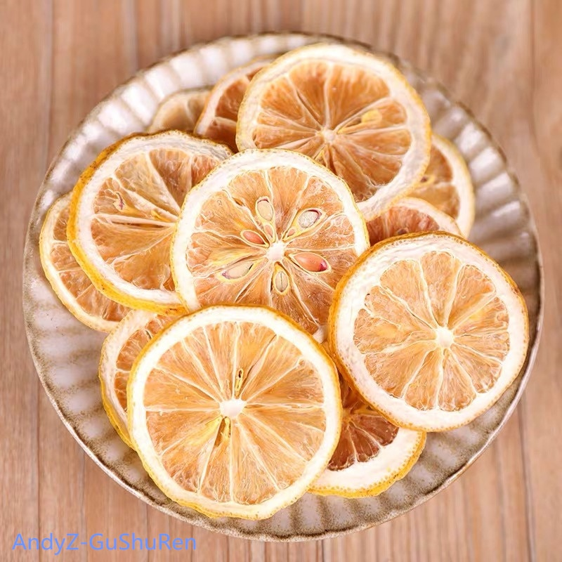 250g 2020 Chinese Dry Lemon Slice Flower Tea Natural Organic Lemon Tea Green Food For Health Care Lose Weight fruit Tea