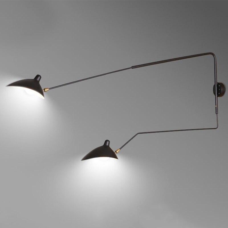 Luz de pared vintage aplique, lámpara de pared para pasillo de hierro,...
