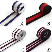 1 12 inch white elastic webbing 38mm elastic band a skirt belt garment accessories elastic sewing elastic stretch webbing