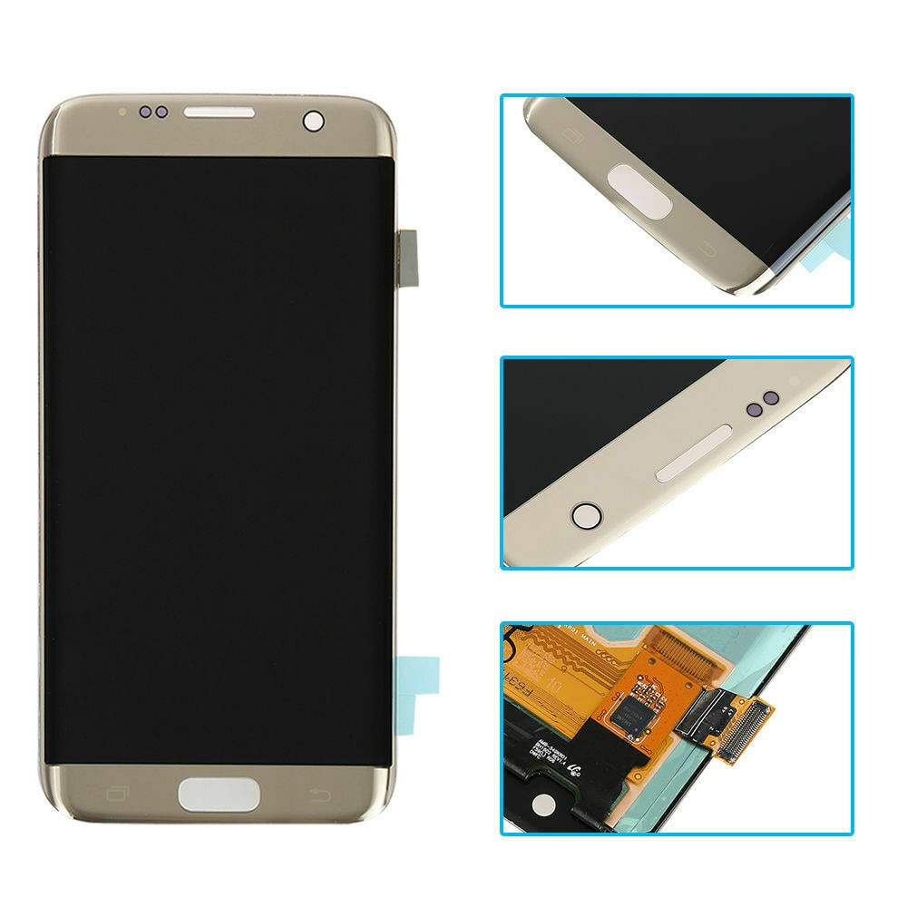 ORIGINAL S7edge AMOLED LCD  for SAMSUNG Galaxy s7 edge G935A  G935U G935F LCD Touch Screen Digitizer Display with Red burn enlarge