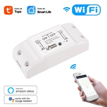 Interruttore Smart Light WiFi fai-da-te Timer interruttore universale Smart Life APP telecomando Wireless funziona con Alexa Google Home Dropship