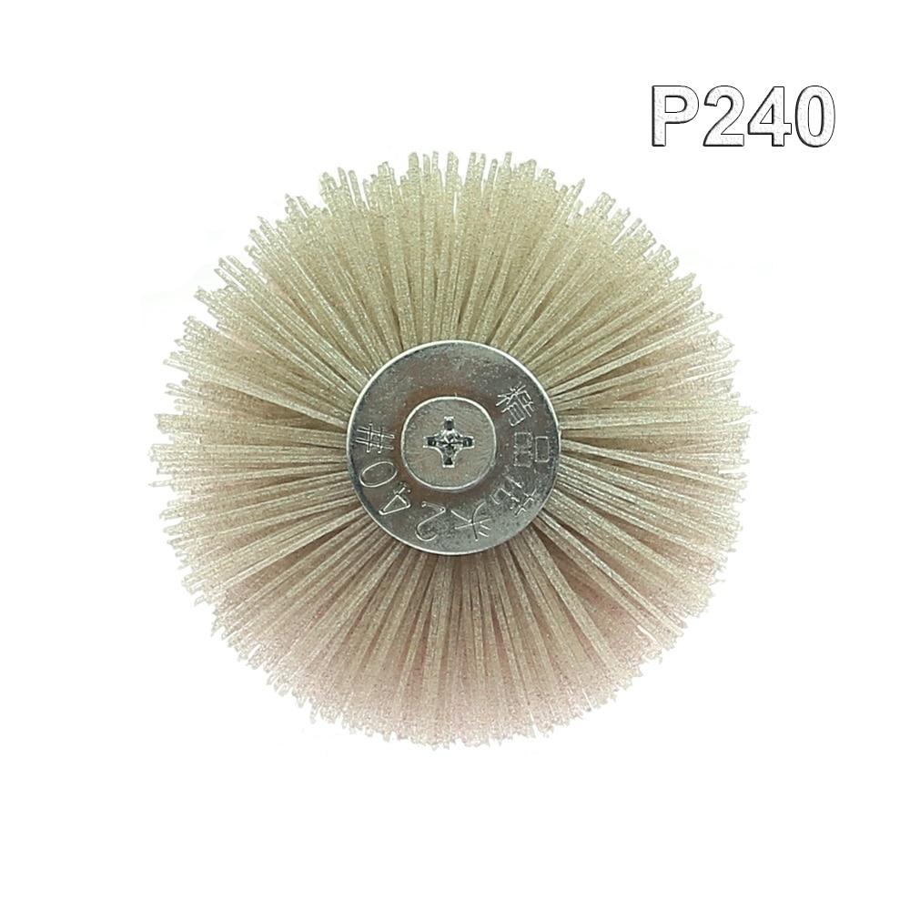 1 tk od 85 mm puuriga abrasiivtraadist radiaalne poleerimishari - Abrasiivtööriistad - Foto 4