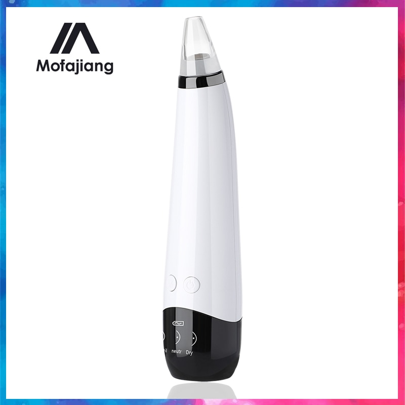 Electric Vacuum Suction Blackhead Remover USB Rechargeable Facial Pore Cleaner Acne Pimple Black Head Extractor Face Skin Care