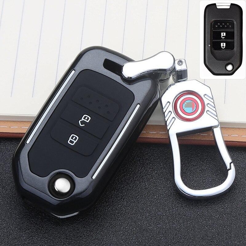 Автомобильные аксессуары, брелок Карманный чехол Чехол для Honda Civic CR-V HR-V Accord Jade Crider Odyssey 2015- 2018 дистанционная защита углеродное волокно