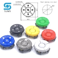 1 set b3f 4055 a14 cap 5 way direction combination switch with arrow ok button 12127 3 mm micro tactile tact button switches