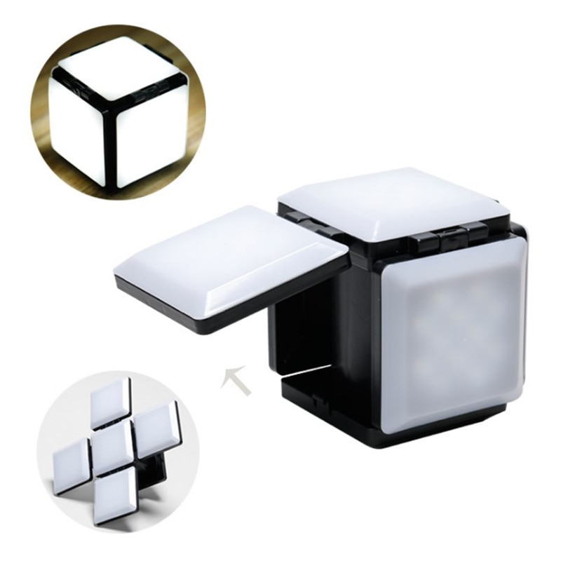 New Arrival Environmental Protection Cube Energy Saving Lamp Fully Adjustable Light Panels with USB Magic Lamp