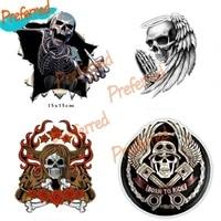 metal angry skeleton skull skeleton with beard premium funny decal motocross racing laptop helmet trunk wall vinyl car sticker