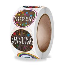 Teacher Reward Motivational Stickers for Children 500PCS School Stickers Teacher Supplies for Classroom, Potty Training Stickers