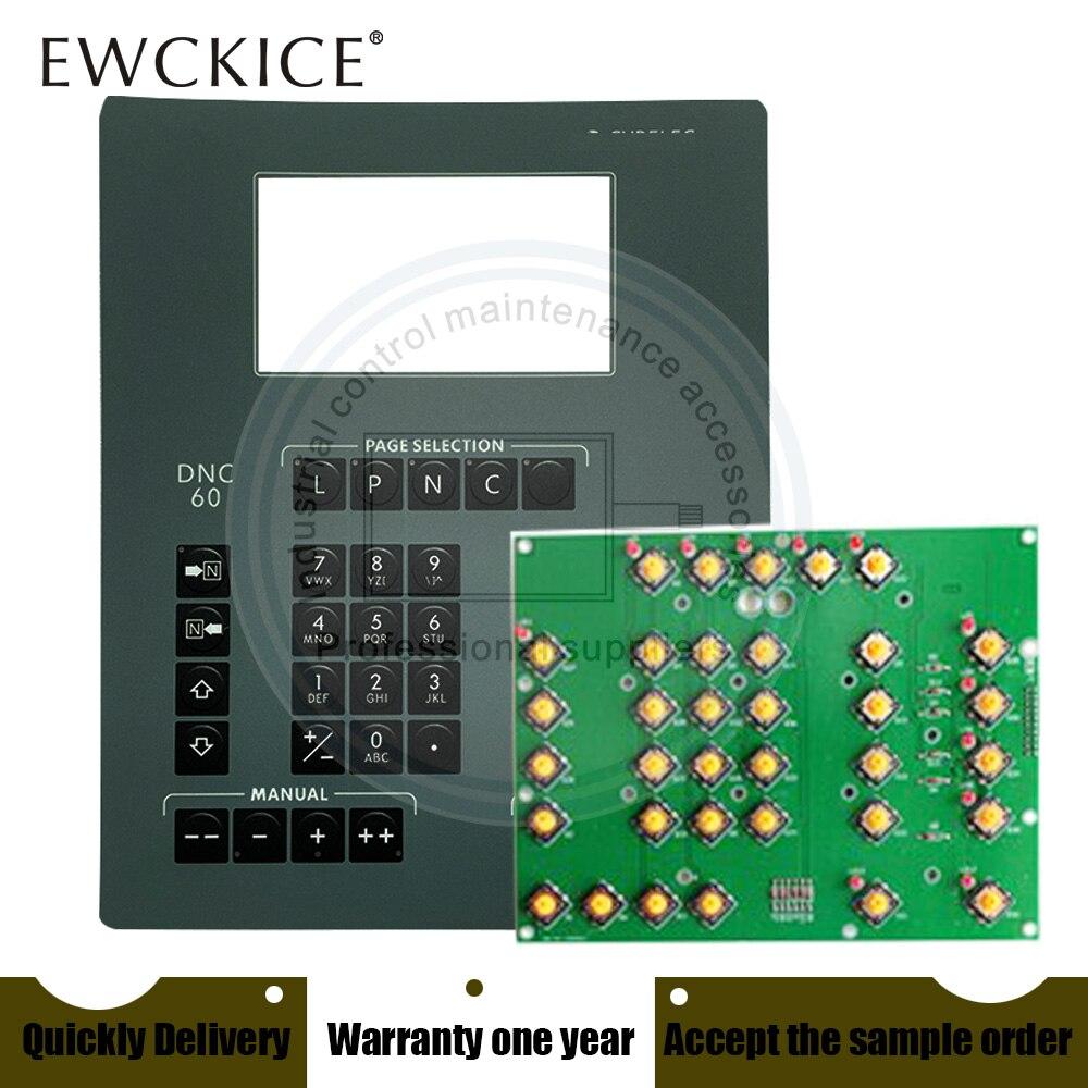 NEW DNC60 HMI PLC Membrane Switch keypad keyboard