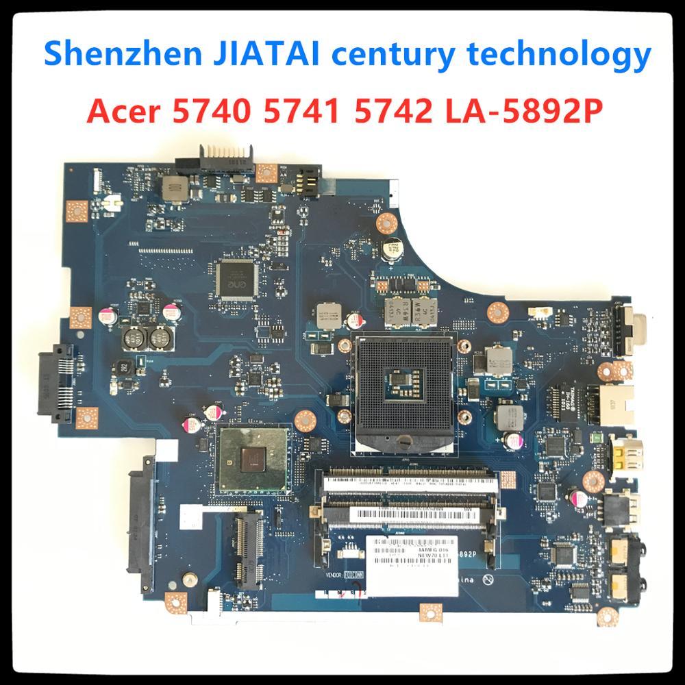 NEW70 LA-5892P для acer aspire 5741 5741G 5742 5742G материнская плата ноутбука LA-5892P MBWJU02001 MBPSV02001 HM55 DDR3 100% проверка прошла успешно