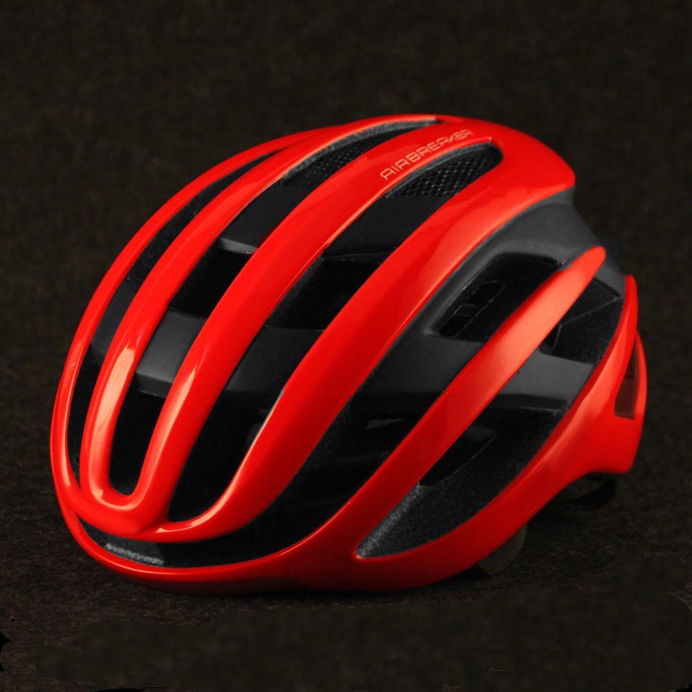 Rouge Aero vélo casque course cycliste sport Casco Ciclismo vélo casque ultra-léger aérodynamique route casque de vélo hommes 2020