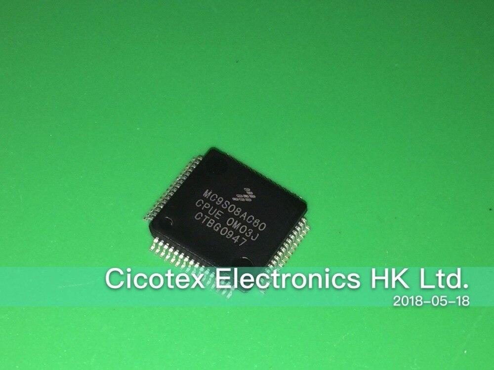 5 unids/lote MC9S08AC60CPUE LQFP64 MC9S08AC60 CPUE IC MCU 8BIT 60KB FLASH 64LQFP