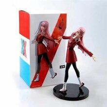 Anime DARLING in the FRANXX piękny Zero dwa partnera zabójca statua PVC kolekcja figurek zabawkowy Model B100