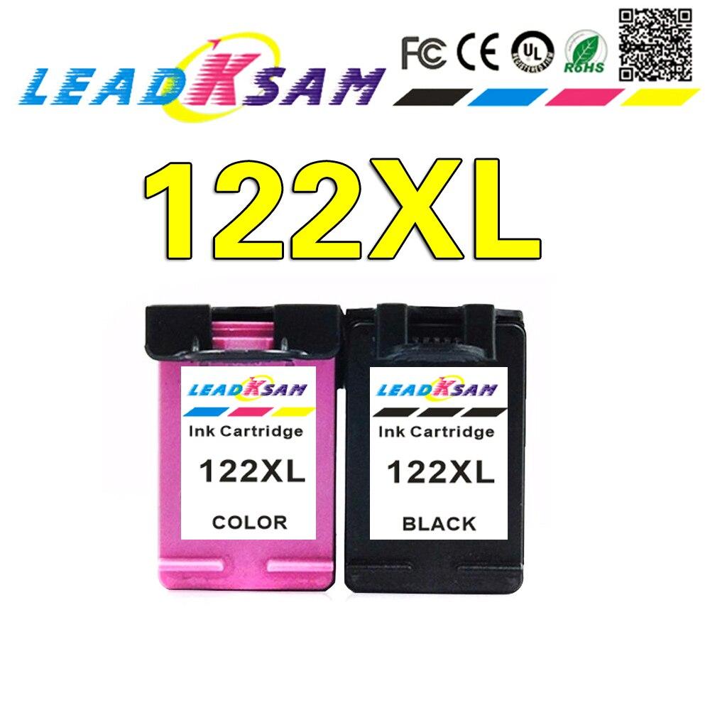 LeadKsam 122XL cartucho de tinta Compatible para hp 122 xl hp 122 Deskjet serie 1000, 1050, 2000, 2050, 2050s 3000 3050A 3052A 3054 de 1010 a 1510