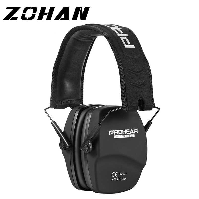 ZOHAN Noise Reduction Safety EarMuffs NRR 26dB Shooters Hearing Protection Earmuffs Adjustable Shooting Ear Protection Protector zohan noise cancelling hunting hearing protection safety earmuffs ear defenders adjustable shooting ear protection protector