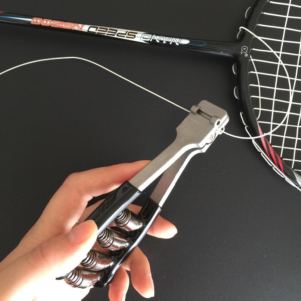 Raquete de Tênis Oferta Specal Preto Alicates Stringers Começando Braçadeiras Badminton Amarrando Máquina Ferramentas Peças pt