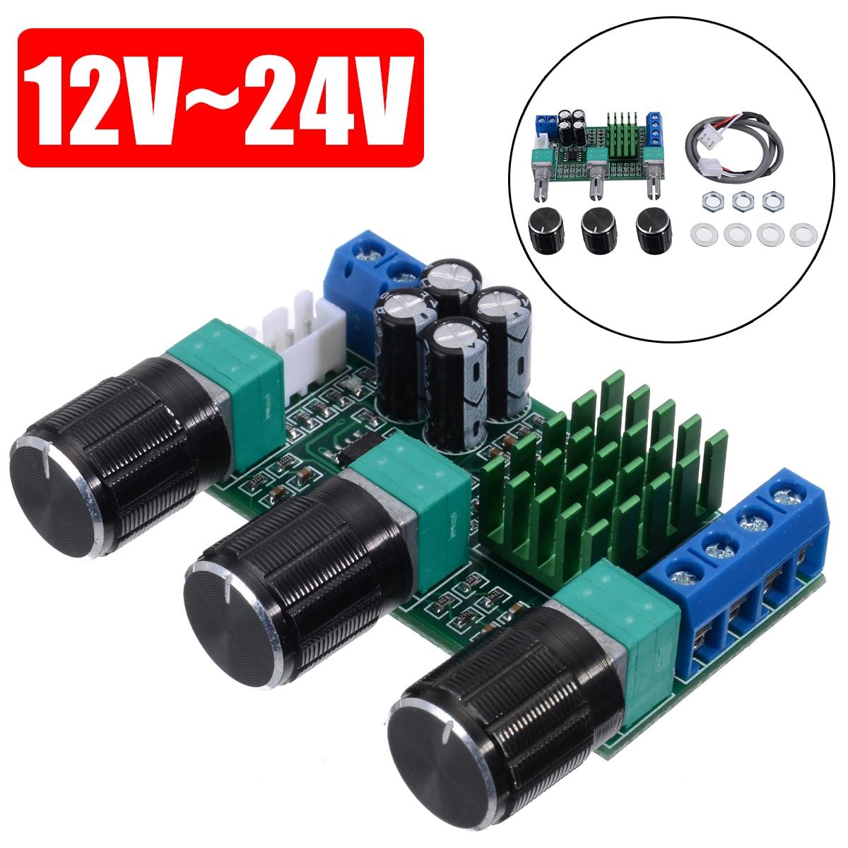 TPA3116D2 Digital Amplifier Board 80W+80W 12V~24V Dual Channel Stereo Power Amplifier Boards New diy hi fi 6n3 tube pre amplifier tda7294 amplifier board kit 80w 80w
