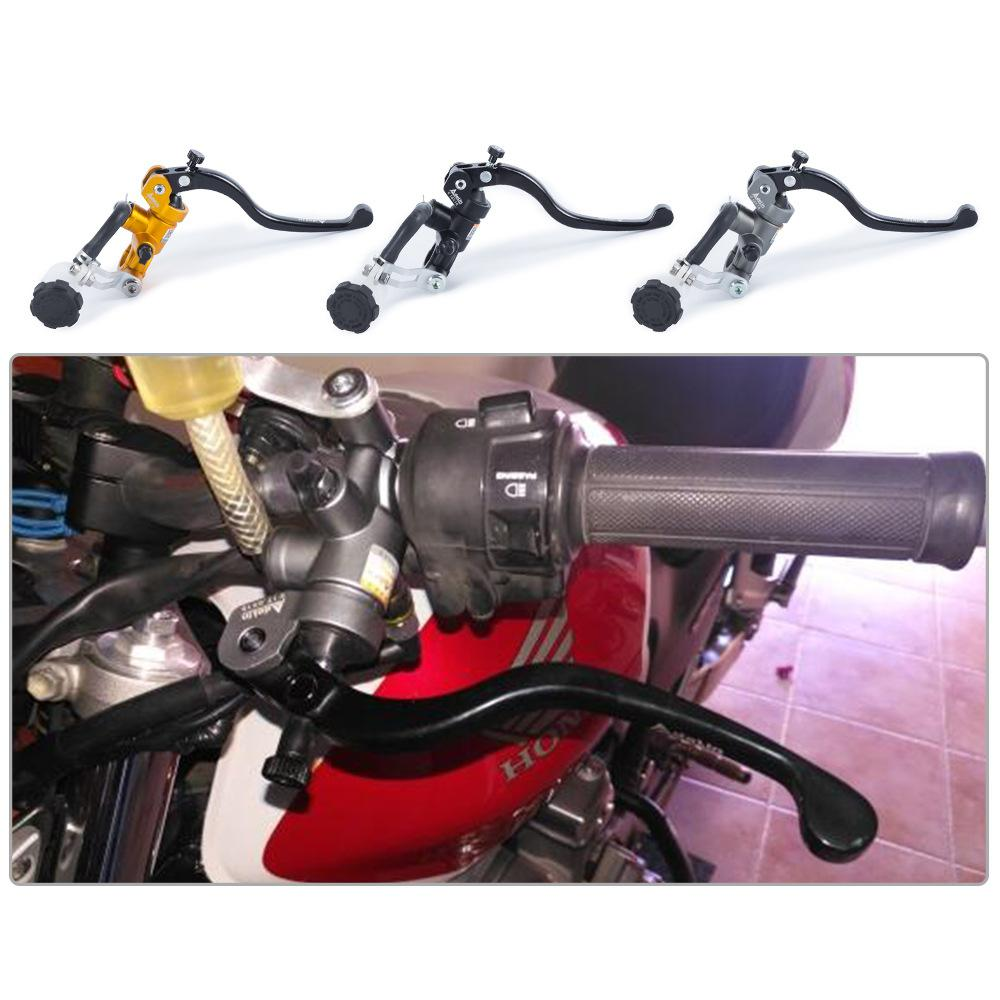Freno de motocicleta Adelin cilindro maestro freno hidráulico embrague palanca manija Universal para Honda Yamaha Moto