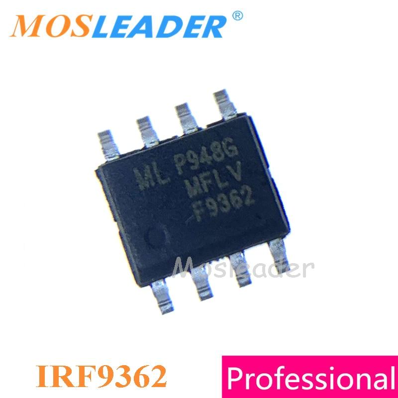 موسليدر IRF9362 SOP8 100 قطعة-30 فولت المزدوج P-قناة IRF9362TRPBF IRF9362PBF جودة عالية صنع في الصين علامات مختلفة