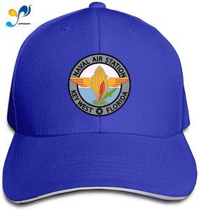 Naval Air Station Key West Florida Unisex Sandwich Baseball Cap