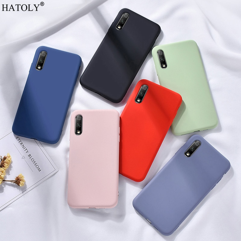 For Meizu 16S Case Cover Soft Liquid Silicone Shockproof TPU Bumper Protective Phone Back Cover For